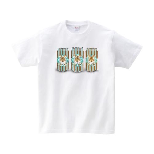チョコミント ドリンク Tシャツ M ホワイト