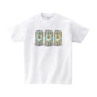 チョコミント ドリンク Tシャツ L ホワイト