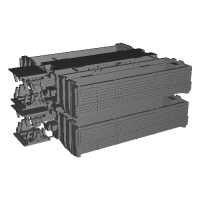 Nゲージ(1/150) 鉄道省 三軸無蓋車 トキ900  登場時 4個セット