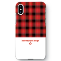 TARTAN COLLECTION #01 for iPhone X (WHITE)