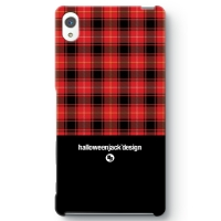 TARTAN COLLECTION #01 Xperia Z5 Premium (BLACK)