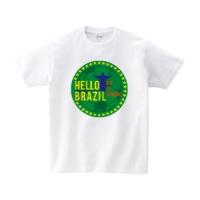 HELLO BRAZIL Tシャツ S ホワイト