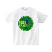 HELLO BRAZIL Tシャツ M ホワイト