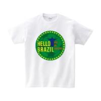 HELLO BRAZIL Tシャツ L ホワイト