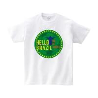 HELLO BRAZIL Tシャツ XL ホワイト
