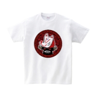 HSMT design KITSUNE Tシャツ S ホワイト