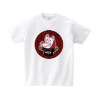HSMT design KITSUNE Tシャツ L ホワイト