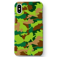 CAT CAMO GREEN iPhone X ケース