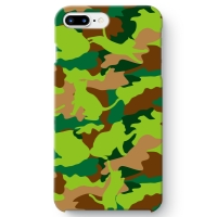 CAT CAMO GREEN iPhone 8 Plus ケース