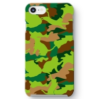 CAT CAMO GREEN iPhone 8 ケース