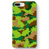 CAT CAMO GREEN iPhone 7 Plus ケース