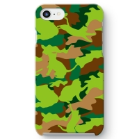 CAT CAMO GREEN iPhone 7 ケース