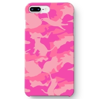 CAT CAMO PINK1 iPhone 7 Plus ケース