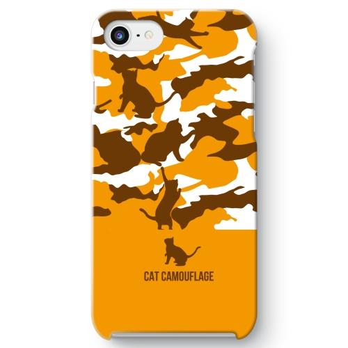 三毛猫カモ iPhone 8 ケース