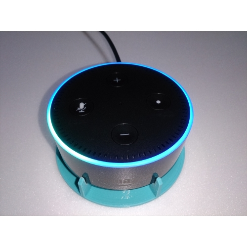 Amazon_Echo_Dot_Speaker_stand.stl
