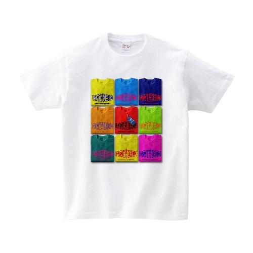 TEE ON TEE Tシャツ M ホワイト
