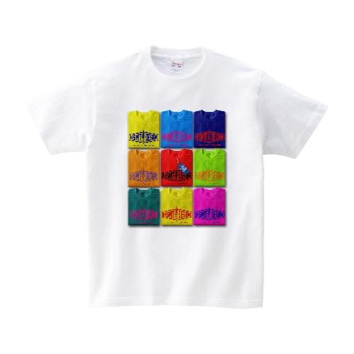 TEE ON TEE Tシャツ L ホワイト