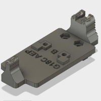 電動 G18C用 マイクロプロサイトマウント(B)