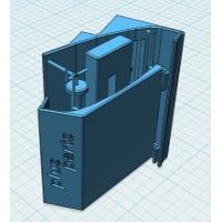 ドリンクホルダーアダプタ(シングルタイプ-3 slim)+車内アクセサリー取付プレートセット