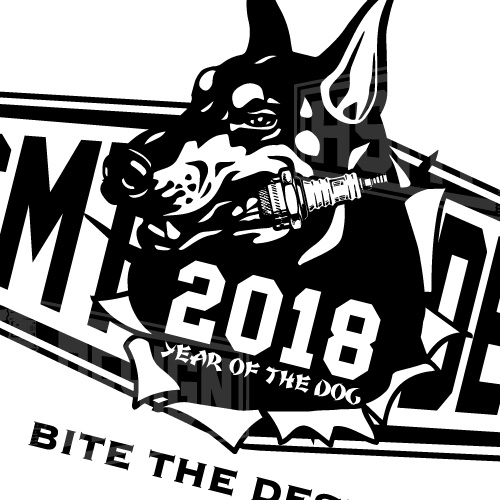 YEAR OF THE DOG Tシャツ L ホワイト
