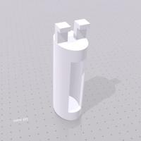 トイペジャック(トイレットペーパーの穴にすっぽり収納できる小物入れです)