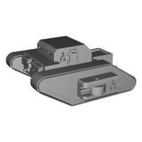 WWI German Fictional Rhomboid RC Tank