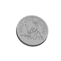 チタン製 1円天メダル (アクリルも可)