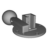 アルテヘッド>25mm球体接続変換アダプター