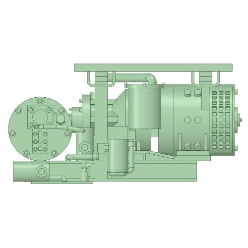 C-1101 AR-2型コンプレッサー 10個【武蔵模型工房 Nゲージ 鉄道模型】