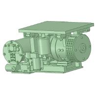 C-1102 AR-2型コンプレッサー 20個【武蔵模型工房 Nゲージ 鉄道模型】