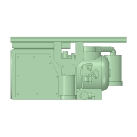 C-1301 RW20型コンプレッサー 10個【武蔵模型工房 Nゲージ 鉄道模型】