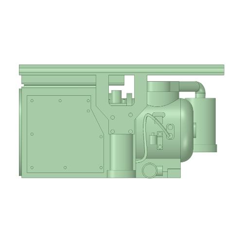 C-1302 RW20型コンプレッサー 20個【武蔵模型工房 Nゲージ 鉄道模型】