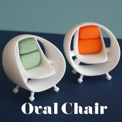 Oval Chair 1/20scale