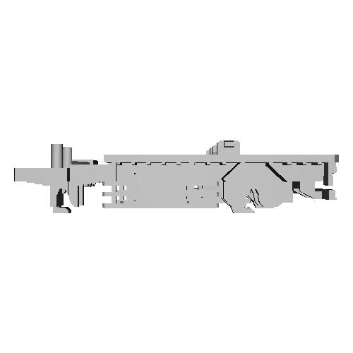 12ftコンテナ2個積みフルトレーラキット