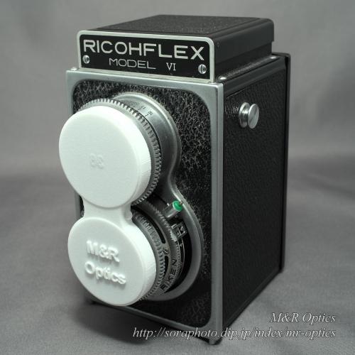 リコーフレックス用レンズキャップ / Lens Cap for Ricohflex