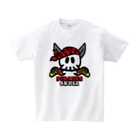 パイレーツスカル Tシャツ XL ホワイト