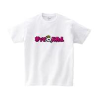 ポップスカル カタカナ Tシャツ L ホワイト