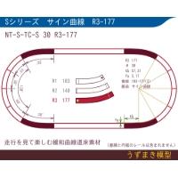 旧)緩和曲線道床素材 NTk-S-TC-S 30 R3-177 Oval