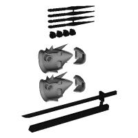 HGナハトAddon(肩&武器) v1.stl