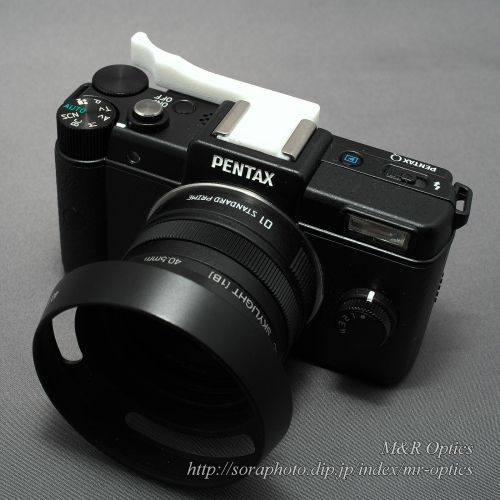 PENTAX Q用サムレスト / Thumbrest for PENTAX Q