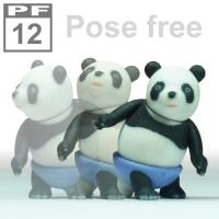 ポーズフリー《パンダさん》