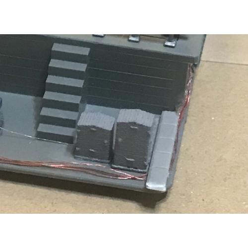 Nゲージ信号機・踏切用継電箱(キュービクル)ダミー6種アソート42個入り(改2)