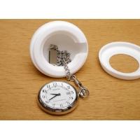 シチズン製ソーラーテック電波懐中時計REGUNO用「卓上ミニ置時計型ケース」
