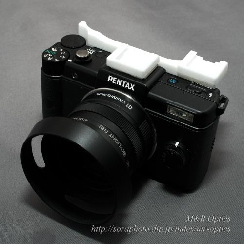 PENTAX Q用ダブルシュー付サムレスト [Type-2A]
