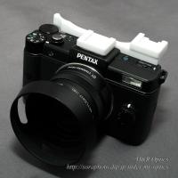 PENTAX Q用ダブルシュー付サムレスト [Type-2B]