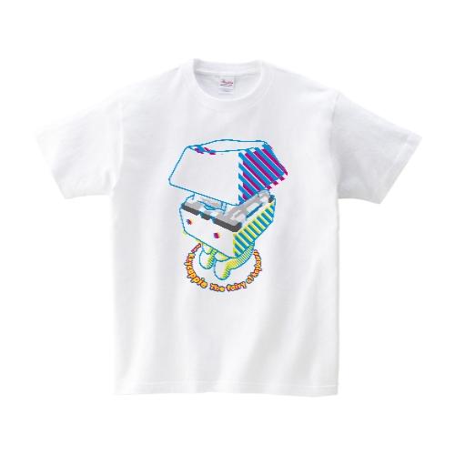 お座りキーキャッピーTシャツ