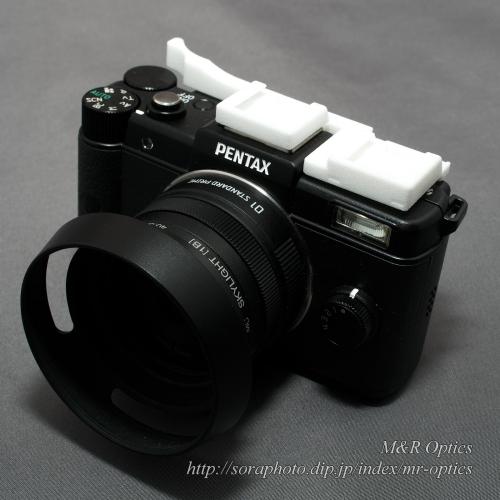 PENTAX Q用ダブルシュー付サムレスト [Type-1A]