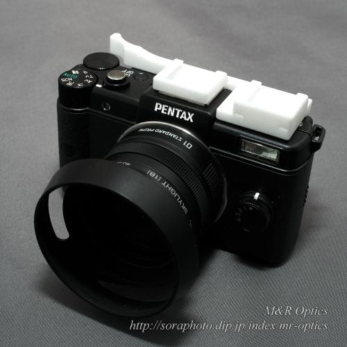 PENTAX Q用ダブルシュー付サムレスト [Type-1B]