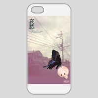 哀愁あいちゃん・カラスアゲハとあいちゃん『iPhone5/5sケース』