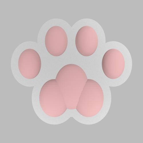 猫の肉球型オブジェ figure_32_32_2-0_s48_dark